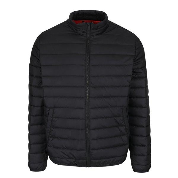 Geacă neagră Jack & Jones Addy matlasată de la Jack & Jones in categoria Geci, paltoane, jachete