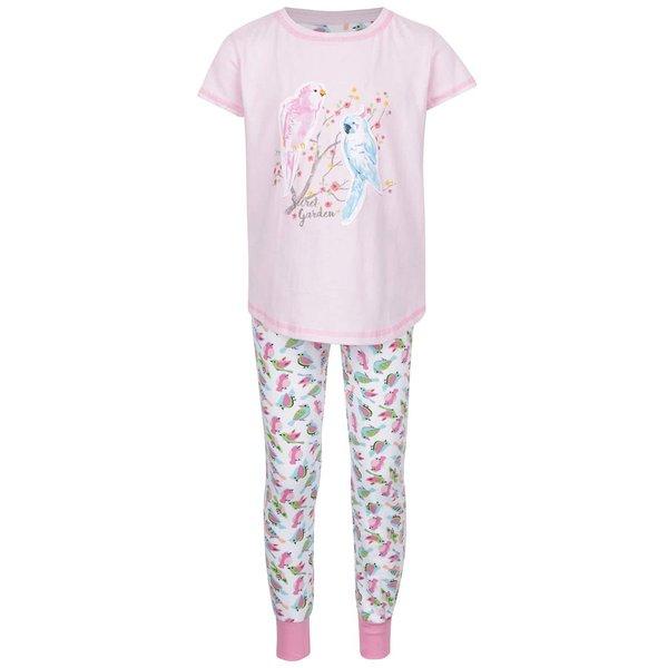 Pijamale de fete 5.10.15 roz cu model de la 5.10.15. in categoria Pijamele