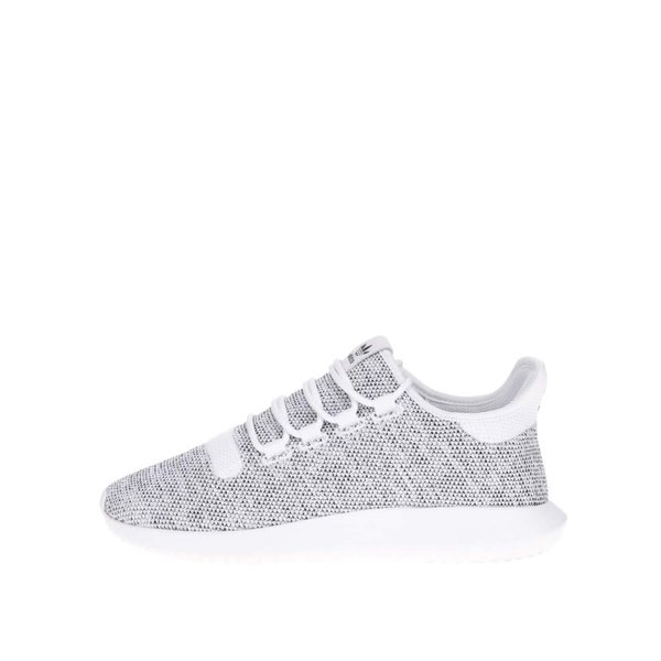 Pantofi sport adidas Originals Tubular Shadow alb cu gri