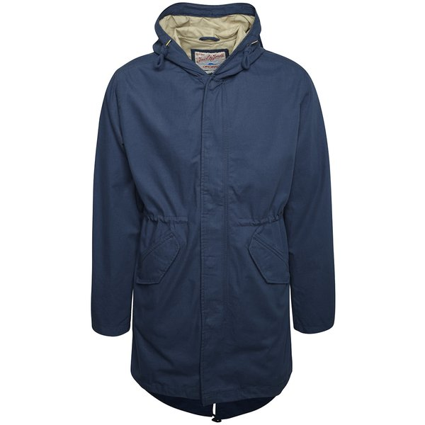 Jachetă parka subțire bleumarin Jack & Jones All