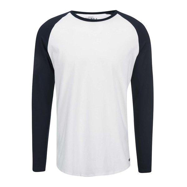 Bluză albă cu mâneci raglan Jack & Jones Stan de la Jack & Jones in categoria Tricouri și bluze