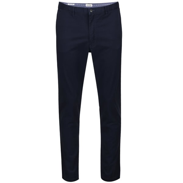 Pantaloni chino albastru ultramaris Jack&Jones Marco
