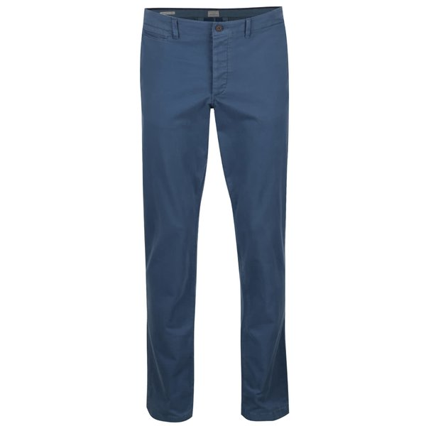 Pantaloni chino albaștri Jack&Jones Cody de la Jack & Jones in categoria Blugi, pantaloni, pantaloni scurți