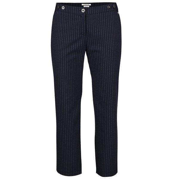 Pantaloni albastru închis Rich & Royal cu model în dungi