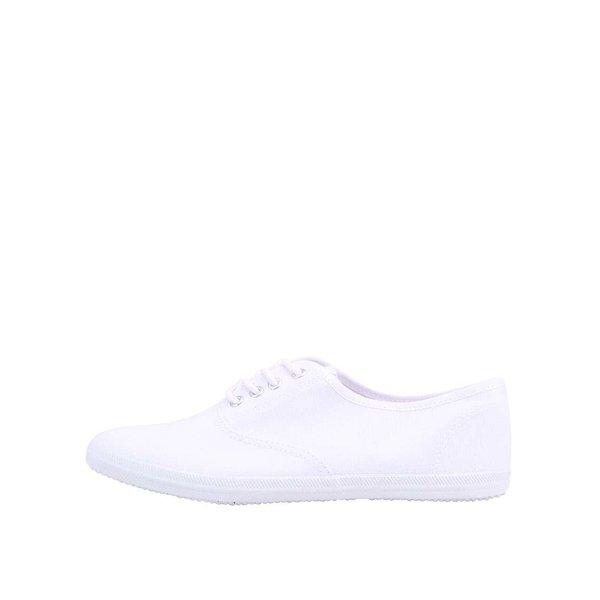 Teniși albi Tamaris din pânză de la Tamaris in categoria pantofi sport și teniși