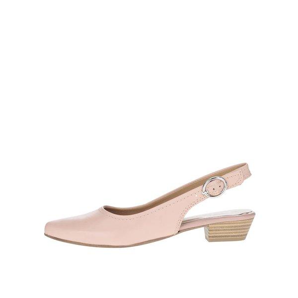 Pantofi slingback roz pal Tamaris de la Tamaris in categoria pantofi cu toc