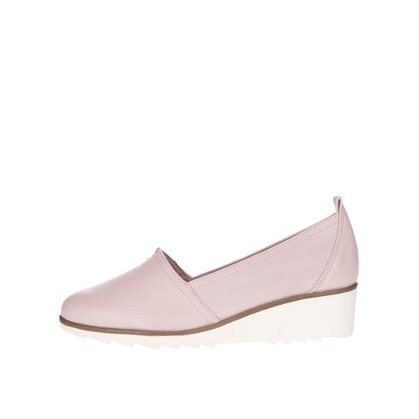 Balerini roz deschis Tamaris cu platformă de la Tamaris in categoria pantofi și mocasini