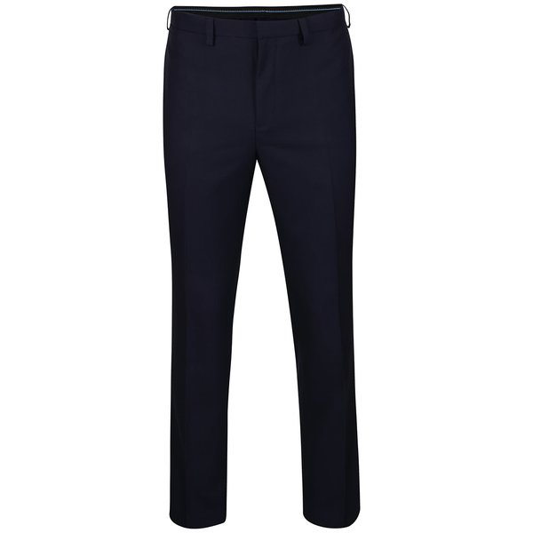 Pantaloni albastru închis Burton Menswear London slim fit