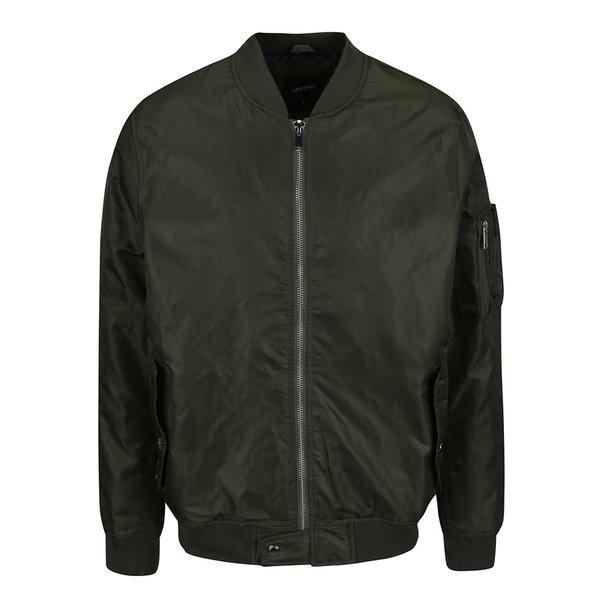 Jachetă bomber kaki Burton Menswear London