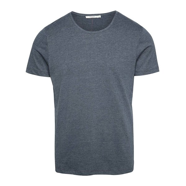 Tricou basic gri albastrui Jack & Jones Hugo