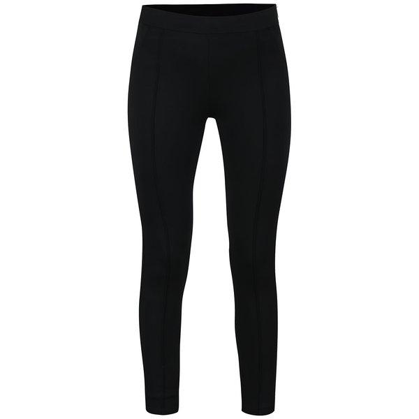 Pantaloni conici mulați negri ONLY Diana de la ONLY in categoria Blugi, pantaloni, colanți