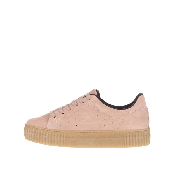 Pantofi sport roz pal cu platformă OJJU Serraje de la OJJU in categoria pantofi sport și teniși