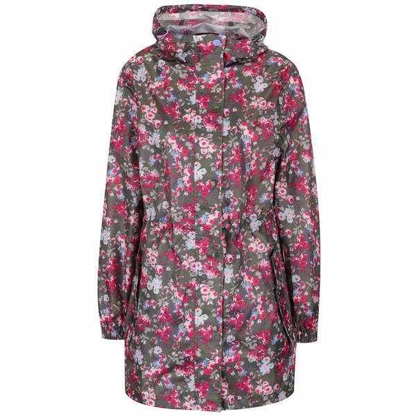Jachetă parka kaki impermeabilă Tom Joule Golightly cu model