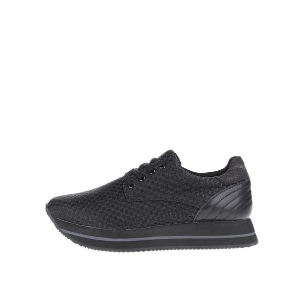 Pantofi sport negri Tamaris cu platformă de la Tamaris in categoria pantofi sport și teniși