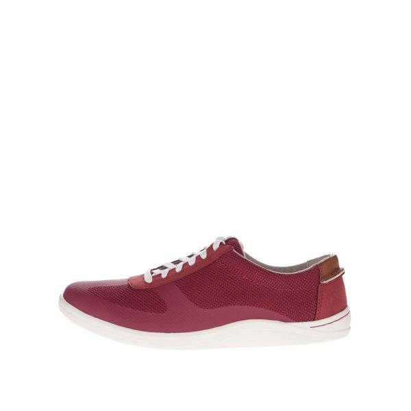 Pantofi sport roșii Clarks Mapped Vibe de la Clarks in categoria pantofi sport și teniși