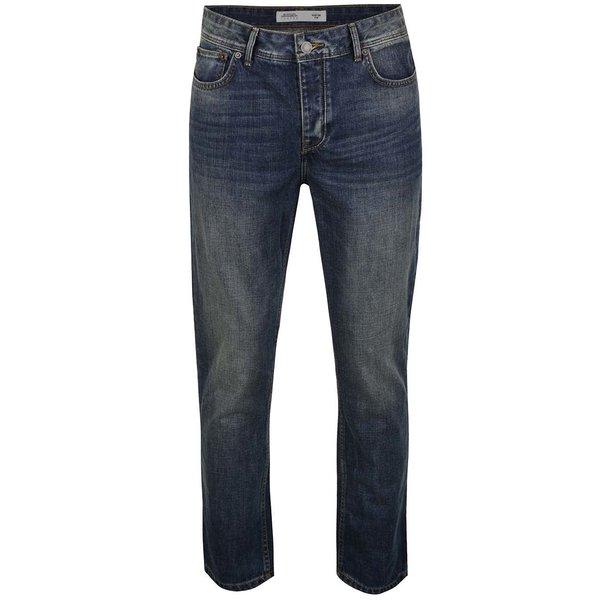 Blugi albaștri Burton Menswear London cu aspect prespălat de la Burton Menswear London in categoria Blugi, pantaloni, pantaloni scurți
