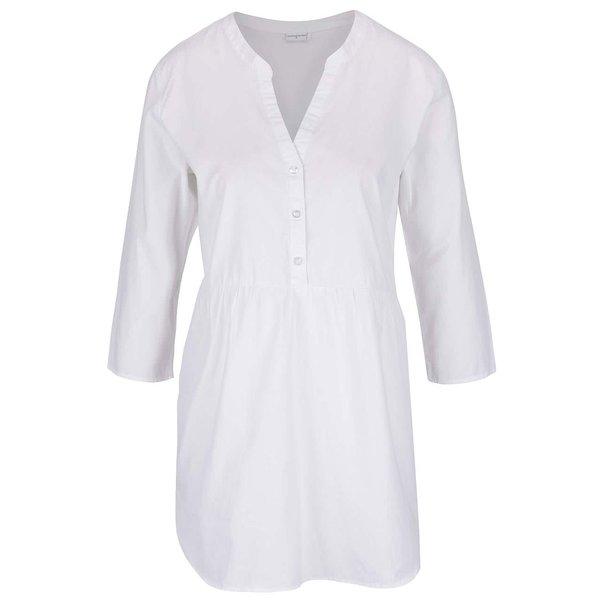 Cămașă crem Jacqueline de Yong Ada cu mâneci 3/4 de la Jacqueline de Yong in categoria Topuri, tricouri, body-uri