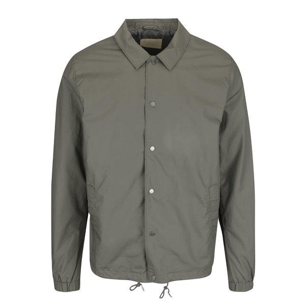 Jachetă verde deschis Selected Homme Coach din bumbac cu guler ascuțit de la Selected Homme in categoria Geci, paltoane, jachete