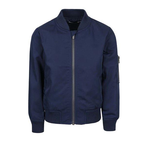 Jachetă bomber albastru închis name it Marten pentru băieți de la name it in categoria Geci, jachete, paltoane