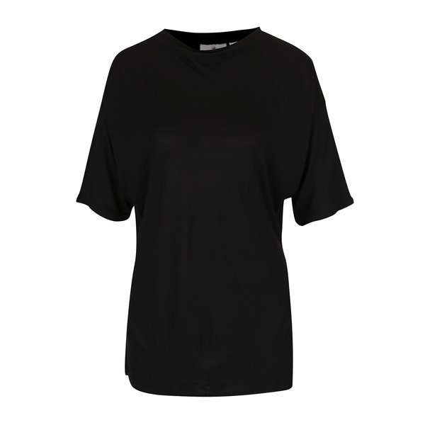 Bluză neagră Cheap Monday cu mâneci medii