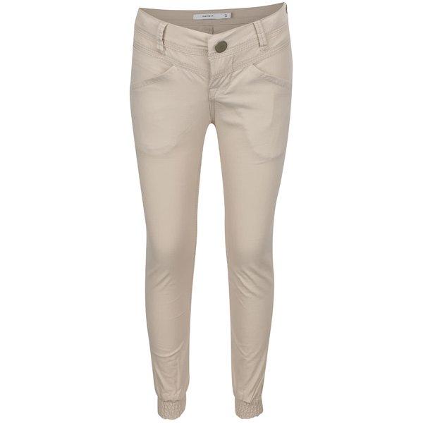 Pantaloni bej name it Tenna pentru fete