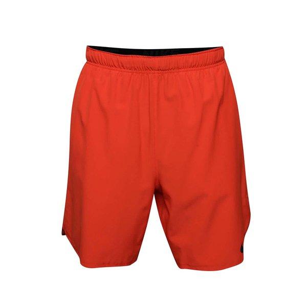 Pantaloni scurți portocalii Nike Flex cu buzunare