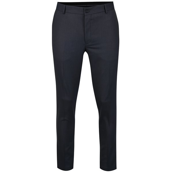 Pantaloni chino bleumarin Jack & Jones Roy