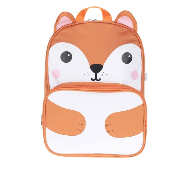 Rucsac portocaliu cu vulpe Sass & Belle Hiro Fox de la Sass & Belle in categoria Accesorii