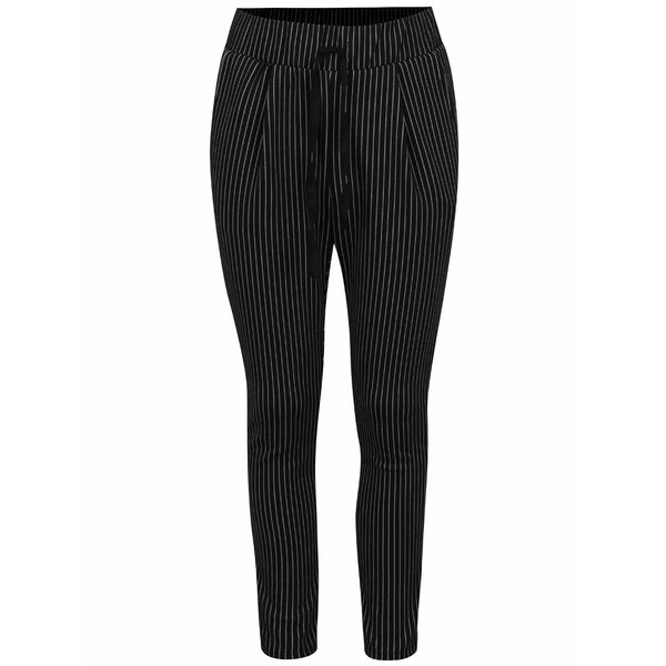 Pantaloni sport negri LIMITED by name it Jane cu model in dungi verticale pentru fete