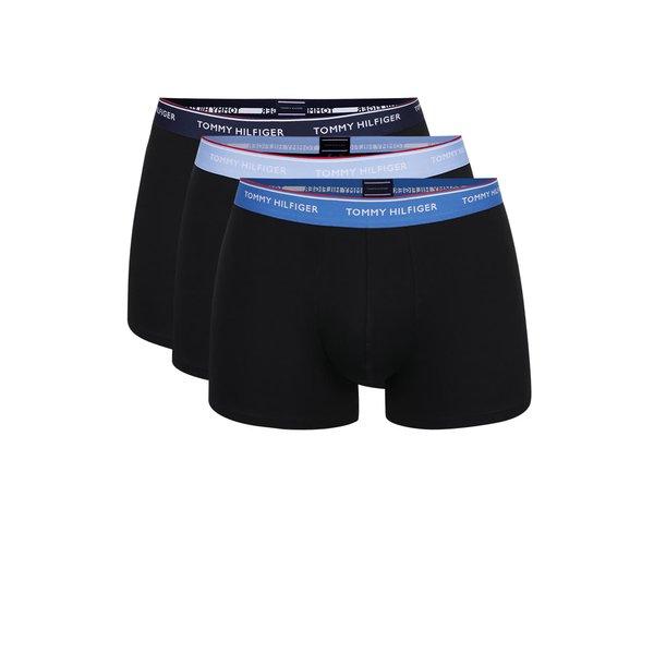 Set 3 boxeri negri cu print logo Tommy Hilfiger de la Tommy Hilfiger in categoria Lenjerie intimă, pijamale, șorturi de baie