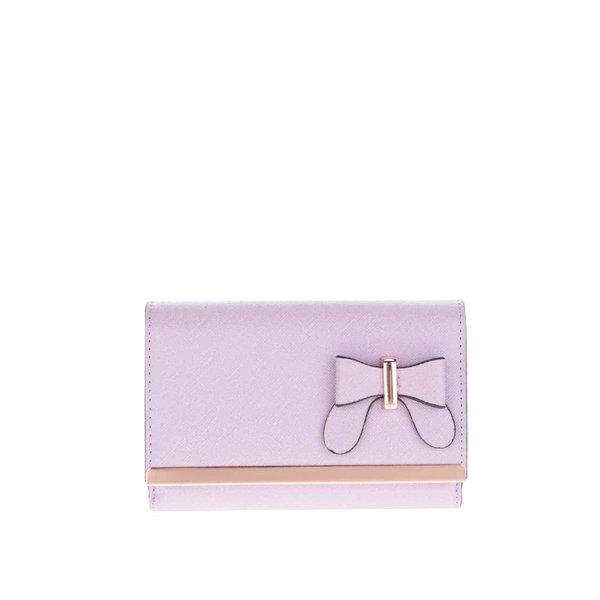 Portofel roz deschis pliabil Gionni Olympia din material texturat de la Gionni in categoria portofele