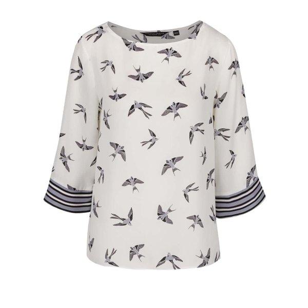Bluză crem Dorothy Perkins cu mâneci chimono