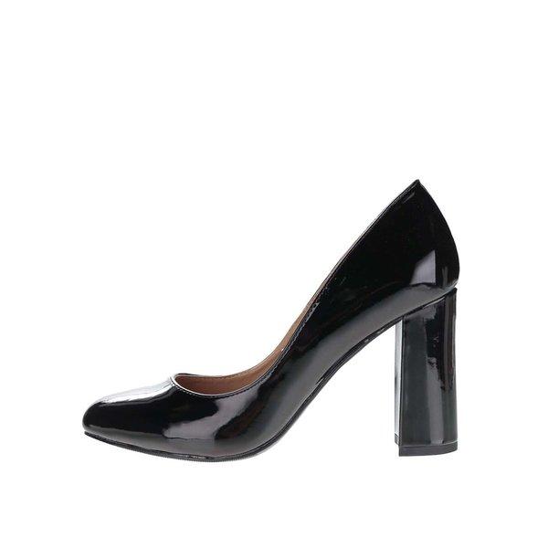 Pantofi cu toc Dorothy Perkins cu aspect lăcuit de la Dorothy Perkins in categoria pantofi cu toc