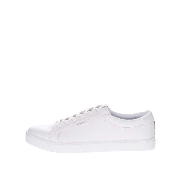 Pantofi sport albi Jack & Jones Sable cu logo