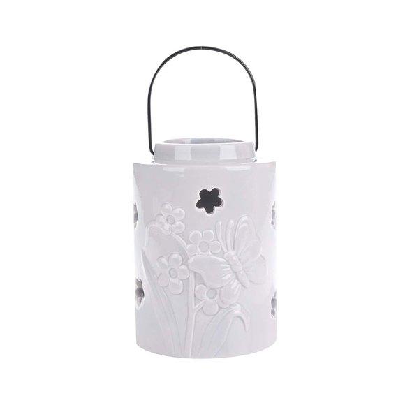Suport pentru lumânare Dakls cu model floral de la Dakls in categoria CASĂ ȘI DESIGN