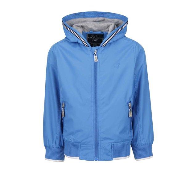 Jachetă albastră North Pole Kids cu logo și detaliu pentru băieți de la North Pole Kids in categoria Geci, jachete, paltoane