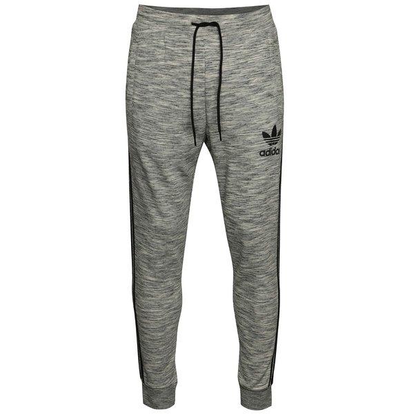 Pantaloni sport gri adidas Originals Clfn cu print