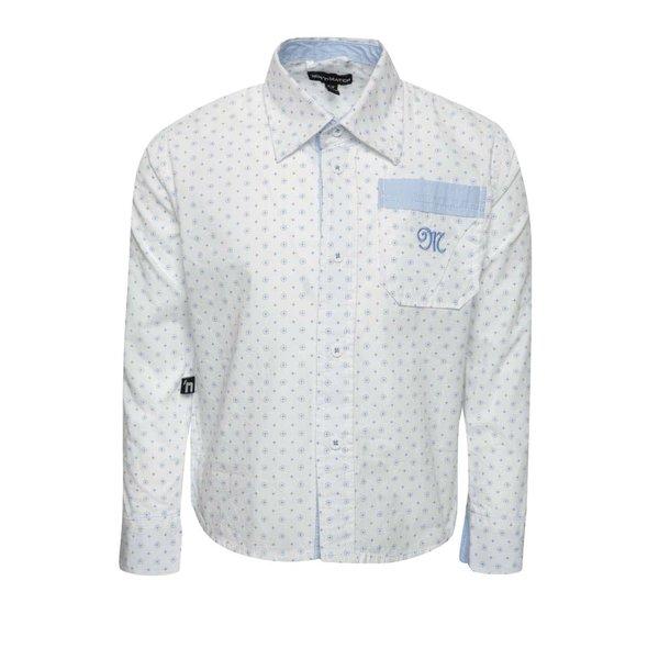 Cămașă alb cu albastru Mix´n Match pentru băieți