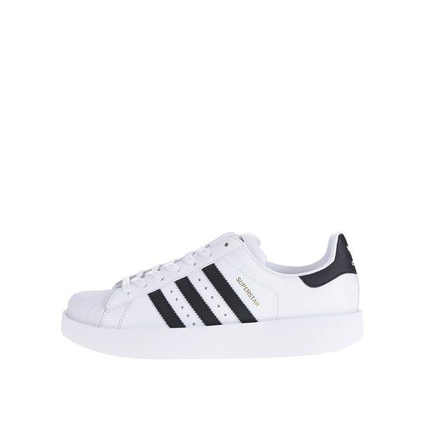 Pantofi sport albi cu platformă Originals Superstar