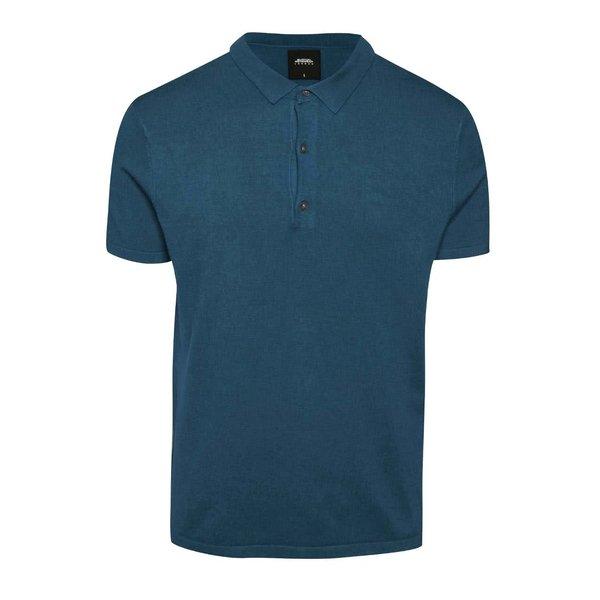 Tricou polo albastru petrol Burton Menswear London de la Burton Menswear London in categoria tricouri polo