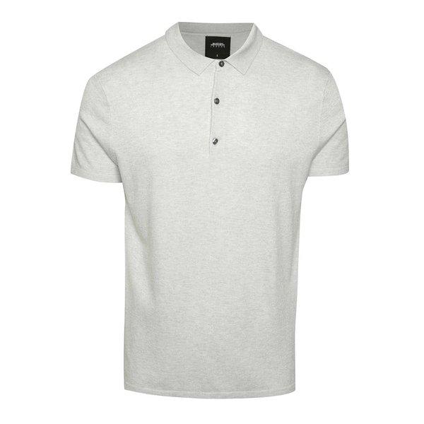 Tricou polo gri deschis Burton Menswear London de la Burton Menswear London in categoria tricouri polo