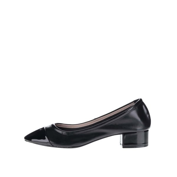 Pantofi negri Dorothy Perkins cu toc solid de la Dorothy Perkins in categoria pantofi cu toc