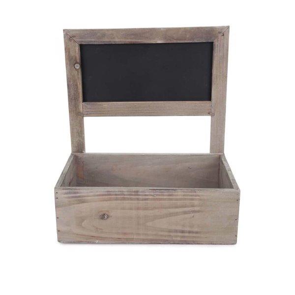 Cutie maro din lemn pentru flori Dakls de la Dakls in categoria Pentru dormitor și camera de zi