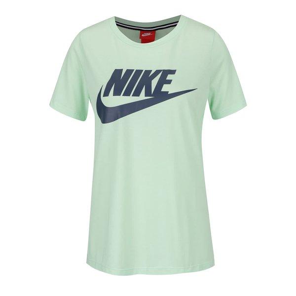 Tricou verde Nike Sportswear Essential regular fit cu logo de la Nike in categoria tricouri