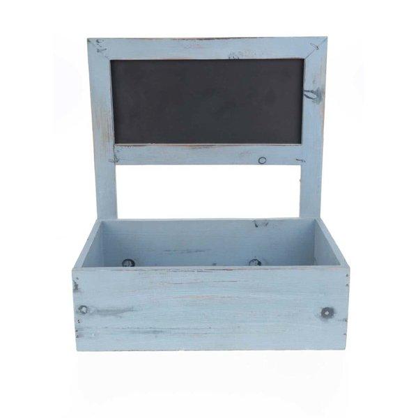 Cutie de bijuterii Dakls albastră din lemn de la Dakls in categoria Pentru dormitor și camera de zi