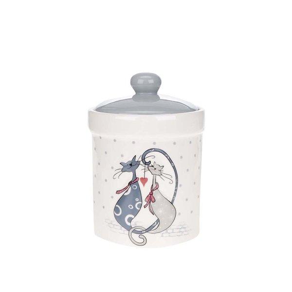 Recipient crem cu imprimeu Dakls din ceramică