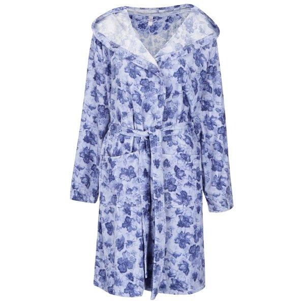 Halat de baie albastru M&Co cu imprimeu de la M&Co in categoria Lenjerie intimă, pijamale, costume de baie