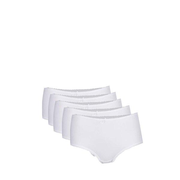 Set 5 perechi chiloți albi M&Co de la M&Co in categoria Lenjerie intimă, pijamale, costume de baie