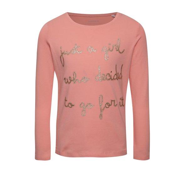 Bluză roz name it Hiba cu aplicații de la name it in categoria Tricouri, camasi