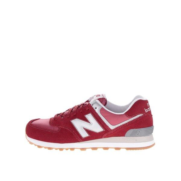 Pantofi sport roșii New Balance 574 Classic de la New Balance in categoria pantofi sport și teniși